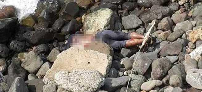 Denizden parmakları kesilmiş ceset çıktı