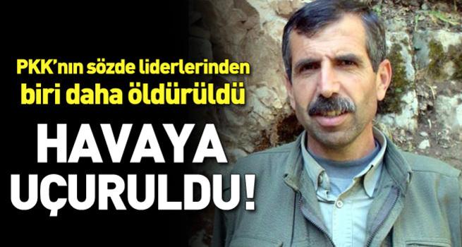 PKK'nın üst düzey sorumlularından Bahoz Erdal öldürüldü