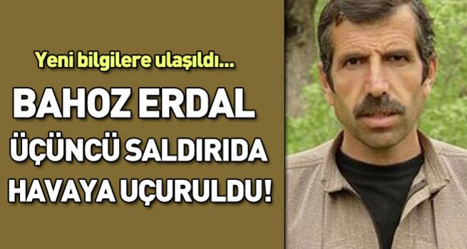 Bahoz Erdal üçüncü saldırıda öldürüldü