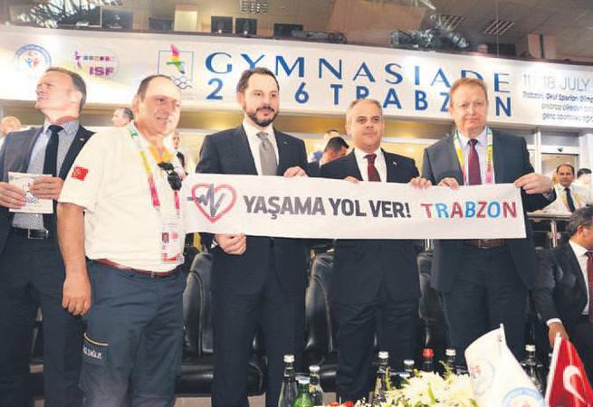 Spor şöleni Trabzon'da