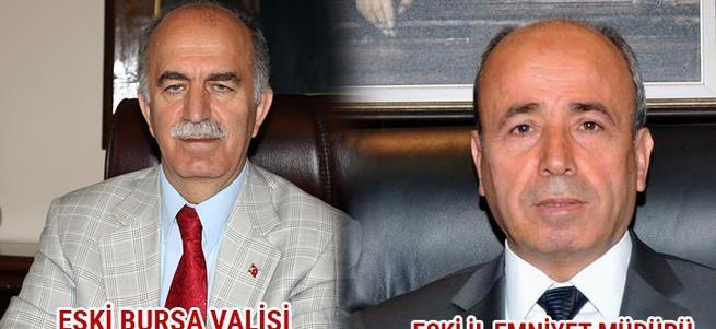 Eski Bursa Valisi ve eski İl Emniyet Müdürü gözaltında