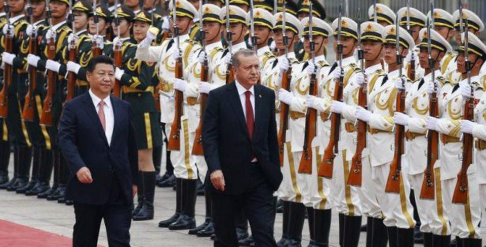 Cumhurba�kan� Erdo�an Çin'de