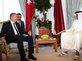 Cumhurba�kan� Erdo�an'�n Katar ziyareti