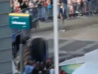 'Canavar kamyon' izleyicileri ezdi: 3 ölü