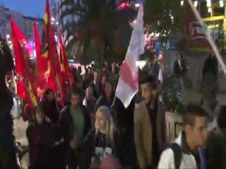 I��D protestosunda gerginlik