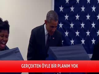 Obama'y� uyard�: Sevgilime dokunma