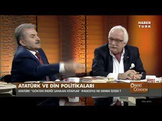 'Allah gökte de�ildir, Atatürk evliyad�r'