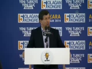 Davuto�lu: CHP'nin zihniyet köklerinde darbe anlay��� vard�r