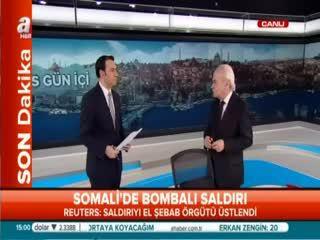 Somali'deki sald�r�dan ilk görüntüler