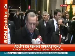Cumhurba�kan� Erdo�an'dan ilk aç�klama