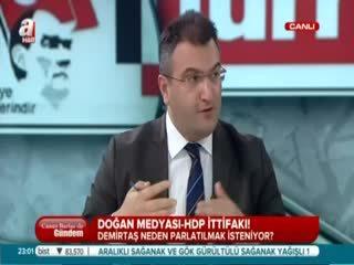 Cem Küçük: Do�an Medyas� HDP'nin propagandas�n� yap�yor