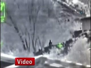 PKK'l� teröristler böyle vuruldu!