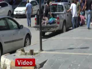 Tunceli'de polis karakoluna sald�r�