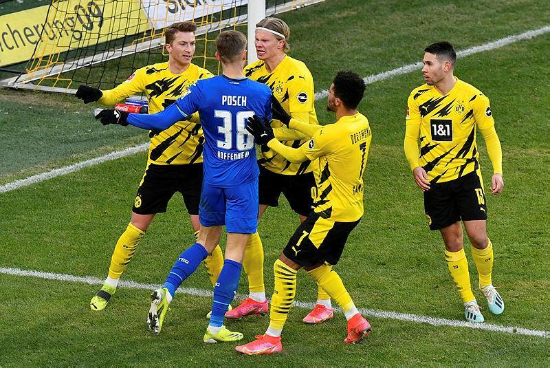 Xem lại bóng đá Dortmund vs Hoffenheim, Bundesliga – 13/02/2021