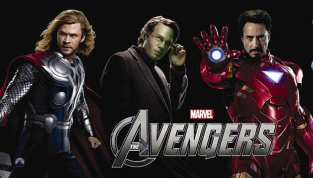 S�per kahramanlar�n dayan��mas�: 'The Avengers'