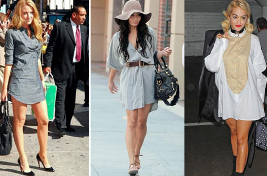 'Pantolonsuz' trendi ile tan���n!