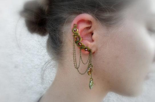 Yeni trend: Ear Cuff
