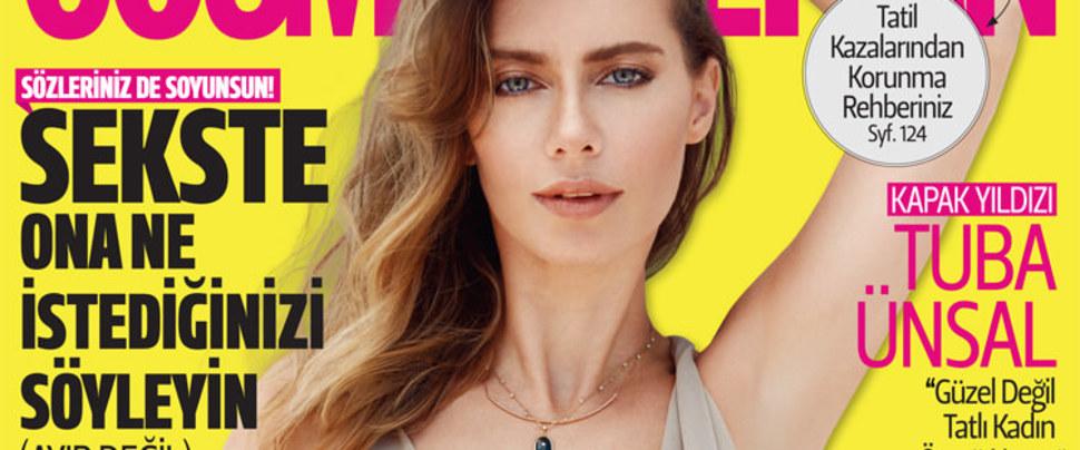 Cosmopolitan Ağustos sayısı bayilerde...