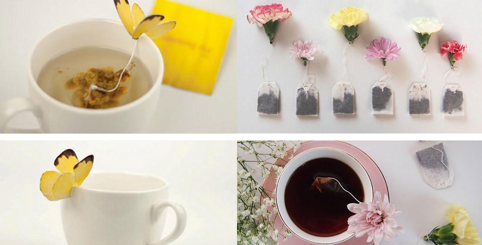 Çay severler için 15 çay poşeti tasarımı