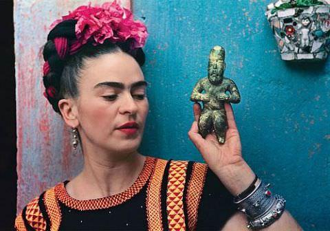 Frida Kahlo'nun bilinmeyen 40 fotoğrafı