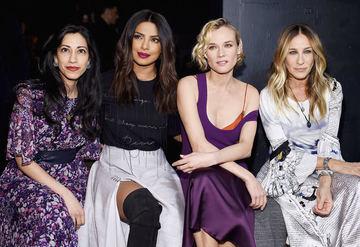 NY Moda Haftası - Ön Sıradakiler