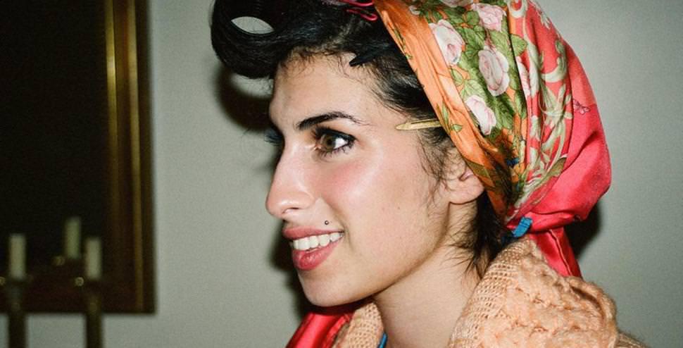 Amy Winehouse'un mutlu anlarından yeni kareler
