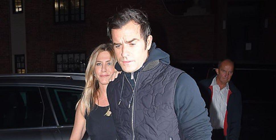 Jennifer Aniston eşiyle görüntülendi