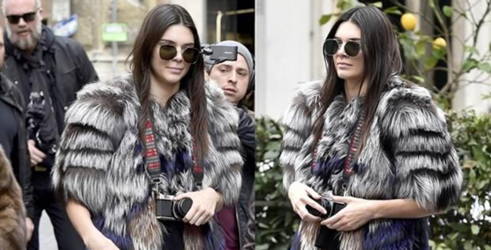 Kendall Jenner ilk kez kamera arkasında