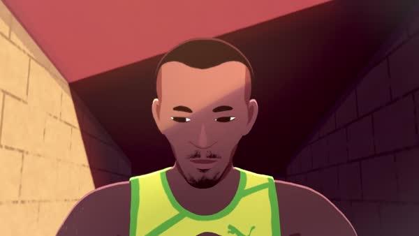Uçmayı öğrenen adam Usain Bolt