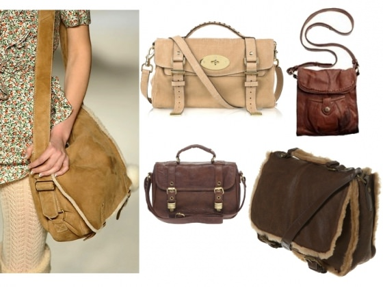 Они не очень элегантны, т.к. имеют форму спортивной сумки, но этот вид.