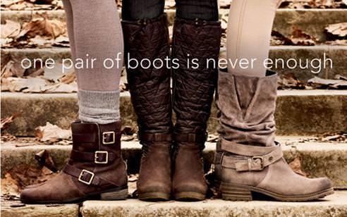 Çizme ve botlarda indirimli trend