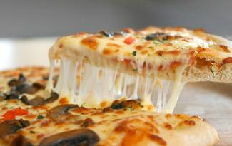 Pizzaya en �ok yak��an peynir