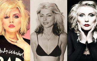 Gel gel Blondie'm gel: Debbie Harry'yle platin stili