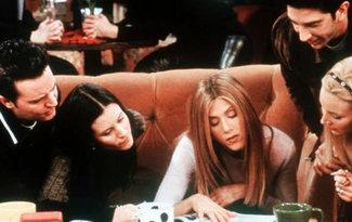 �imdi o kafede ba�ka 'Friends' var!