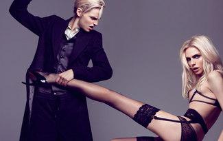 Podyumlar�n iki y�zl� modeli: Andrej Pejic