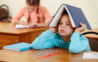 �ocu�unuzun okul fobisi mi var?