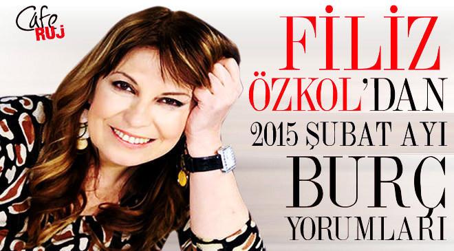 FİLİZ ÖZKOL'DAN 2015 ŞUBAT AKREP BURCU YORUMU