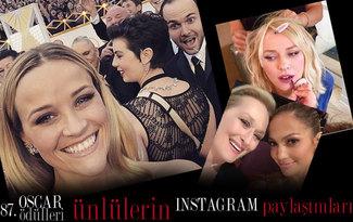 Oscar Gecesi - �nl�lerin instagram payla��mlar�