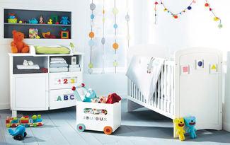 Bebek odas� i�in 6 pratik fikir