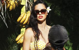 Adriana Lima Vogue Eyewear��n marka y�z� oldu