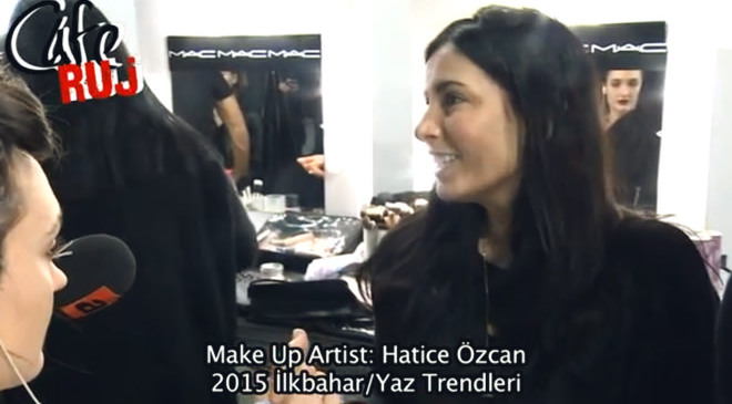 2015 MAKYAJ TRENDLERİ / MBFW İSTANBUL