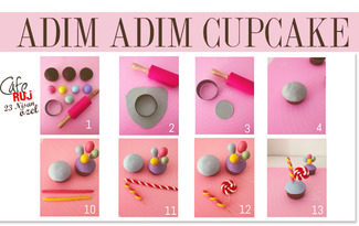 23 Nisan'a �zel e�lenceli cupcake tarifi