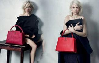 Michelle'nin son Louis Vuitton reklam�
