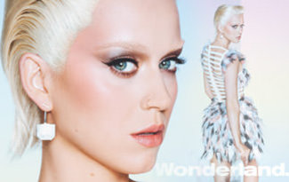 Katy Perry Wonderland dergisi i�in sar���n oldu