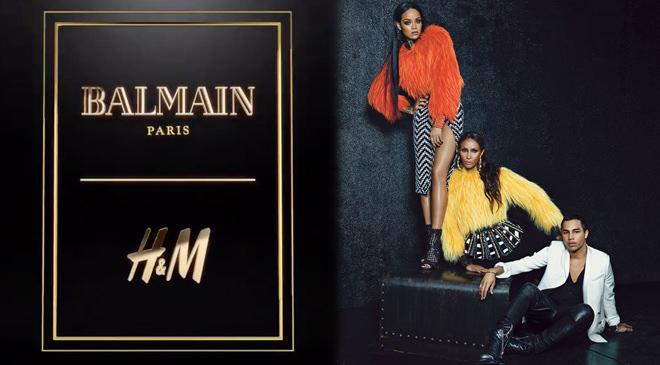 BALMAİN X H&M İŞ BİRLİĞİ