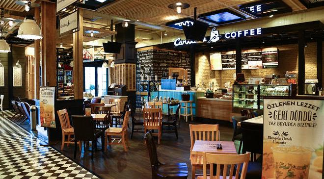MAHALLE'NİN YENİ SAKİNİ: CARİBOU COFFEE