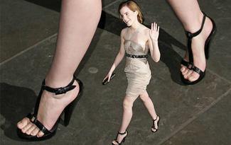 En g�zel ayaklar Emma'n�n