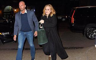 Adele'nin korumas� �ok konu�uluyor