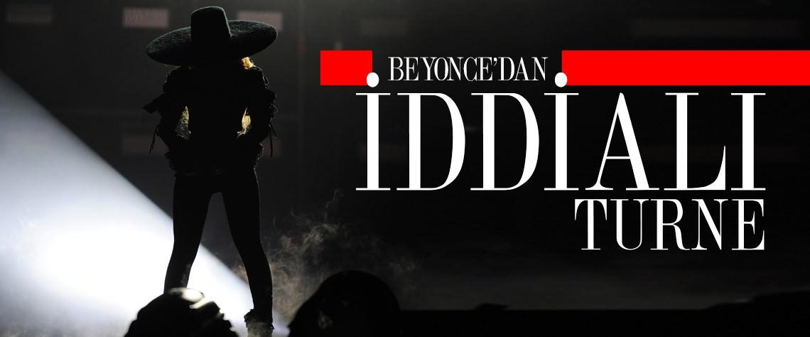 Beyonce, dünya turnesi kapsamında önceki akşam Miami'de konser verdi.