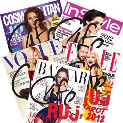 2012 Ocak ay�nda dergilerde neler var?